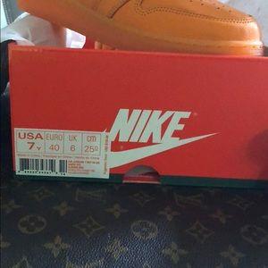 Nike Shoes - Grade school Nike sneakers high top size 7